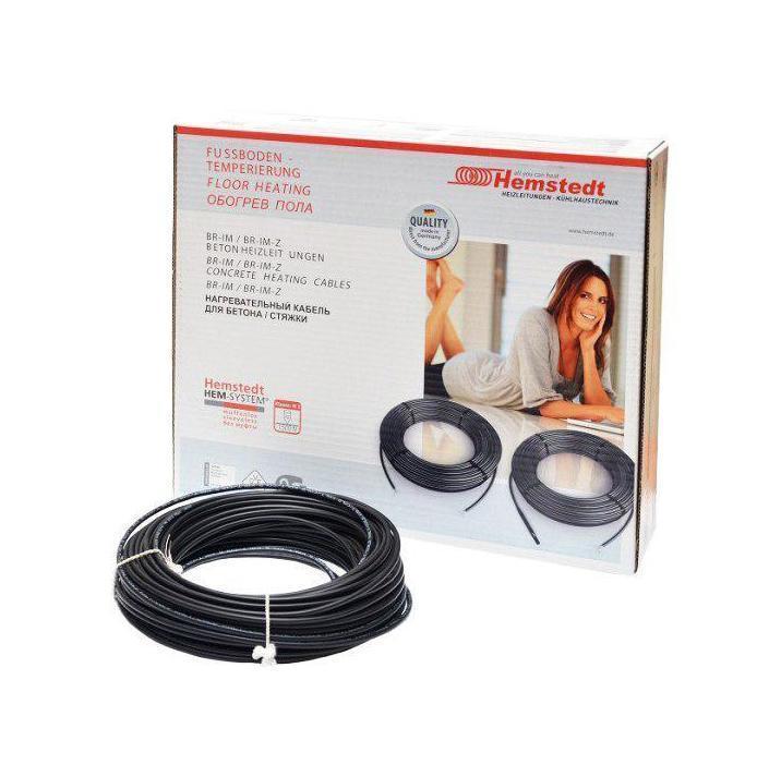 Електрична тепла підлога під плитку  Hemstedt DR 12.5 / 108 м /  6.5 - 10.8 м² / тонкий гріючий кабель