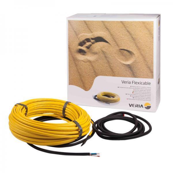 Нагревательный кабель Veria Flexicable 20 / 60 м / 4.5 - 7.6 м² / 1270 Вт