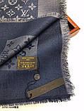 Хустку, шаль, палантин Луї Вітон з люрексом, якістю ААА, фото 8