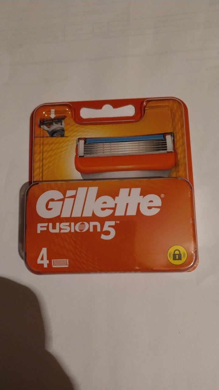 Змінні картриджі Gillette Fusion (4шт.)