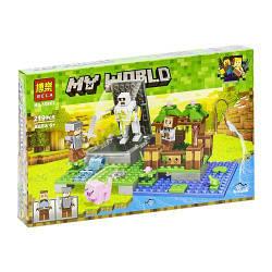 """Конструктор """"My World. Minecraft: приключение"""", 219 дет 10962 scs"""