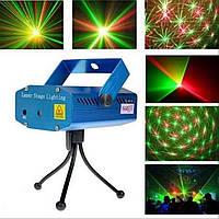 Лазерный проектор Диско LASER RD-7197 (точка), фото 1