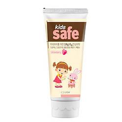 Дитяча зубна паста Полуниця CJ LION Kids Safe Toothpaste Strawberry