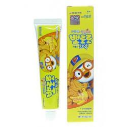 Дитяча зубна паста Банан PORORO toothpaste For Kids