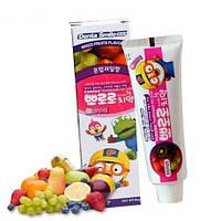 Дитяча зубна паста Фруктовий Мікс PORORO Toothpaste For Kids