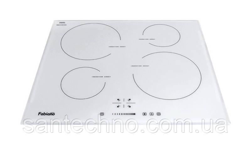 Вбудовувана індукційна поверхня Fabiano FHI 19-44 VTC White Glass Lux (B)