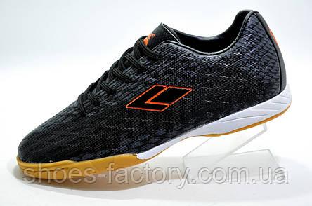Футзалки Difeno, Black\Orange, фото 2