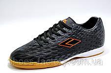Футзалки Difeno, Black\Orange, фото 3