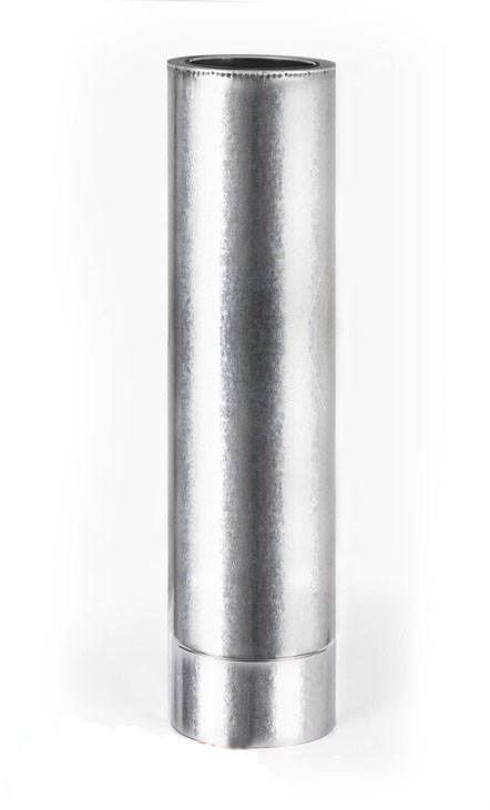 Дымоходные трубы с термоизоляцией 0,3м к/к, 0.5мм