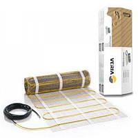Нагревательный  мат Veria Quickmat / 2 м² / 300 Вт / электрический теплый пол с подогревом  под плитку , фото 1