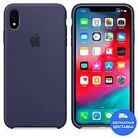 Чехол силиконовый Apple Silicone Case (синий 20) для iPhone XR