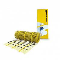 Тонкий нагревательный мат MAGNUM / 5 м² / 750 Вт / электропол под плитку / греющий кабельный мат, фото 1
