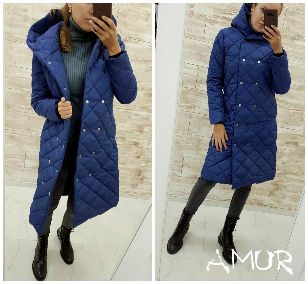 Женская теплая зимняя куртка (норма и батал), фото 1