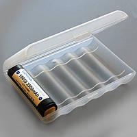 Пластиковый бокс  для 6x18650 с защитой