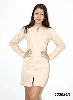 Платье с длинным рукавом, замшевое 42 44 46, фото 1