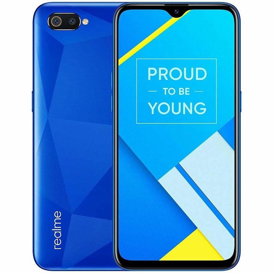 Смартфон Oppo Realme C2 2/16Gb Blue 13+2mp 4000 мАч GLOBAL!