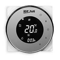 Сенсорный программируемый терморегулятор для теплого пола  Heat Plus BHT-5000 Серебристый (Silver), фото 1