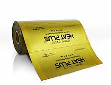 Сплошная Инфракрасная нагревательная пленка Heat Plus Premium Gold / ширина 50 см / Теплый пол пленка