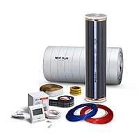 Плёночный теплый пол Heat Plus Standart/ 6.4 м2 / комплект под ламинат