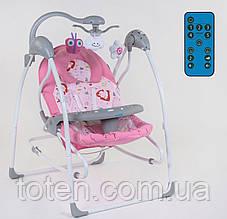 Електронні гойдалки 3в1 СХ-60680 JOY Рожевий