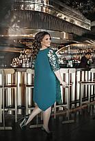 Сукня БАТАЛ ошатне в кольорах 1605099, фото 2