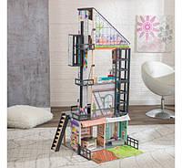 Большой Кукольный домик с лифтом Bianca City Life Mansion KidKraft 65989