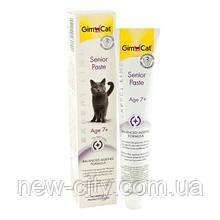 GimCat Senior Paste Витаминная паста для пожилых кошек 50гр
