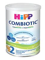 Смесь молочная сухая Combiotic 2 6м+ 750г Hipp Германия 12902