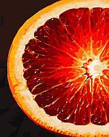 """Картина по номерам """"Грейпфрут"""" 40*50см"""