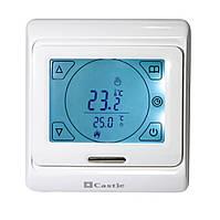 Сенсорный программируемый регулятор для теплого пола Castle M9.716 (с датчиком температуры)