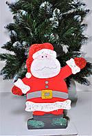 Дед Мороз под елку из дерева, 35см., фото 1