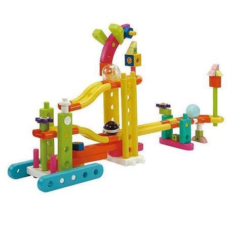 Конструктор для ребенка от 3-х лет Gigo Мини зоопарк 80 деталей (7360)