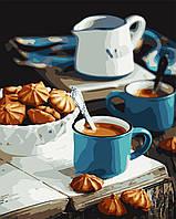 """Картина по номерам """"Ароматный завтрак"""" 40*50см"""