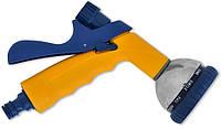 Пистолет распылитель металлический регулируемый поток 10- позиционный