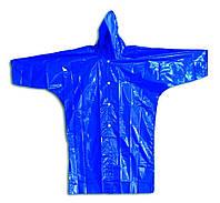 Плащ-дождевик Украина разм. 34, бирюзовый, детский, на липучках, фото 1