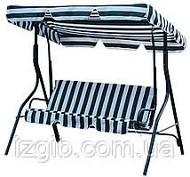 Подвесной диванчик садовый 170х115х157см