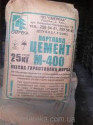 Цемент М400 25кг Доставка Киев
