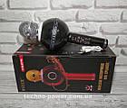 Портативный караоке-микрофон WS-878 с подсветкой, фото 2