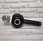 Портативный караоке-микрофон WS-878 с подсветкой, фото 4