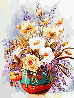 """Картина по номерам """"Пастельные розы"""" 30*40см"""