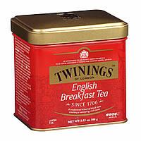 Чай черный Twinings English Breakfast Tea  100г, фото 1