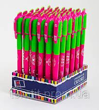 Ручка шариковая автоматическая «Оксфорд» - цвет корпуса малиновый, фото 3