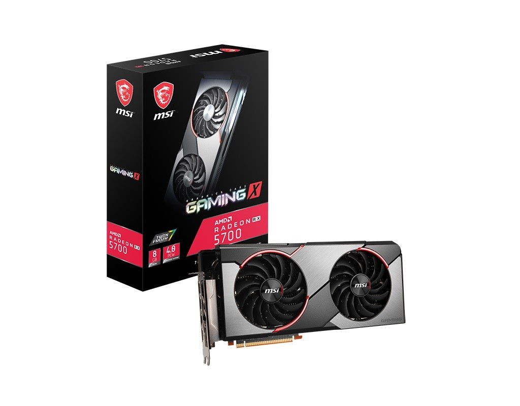 Видеокарта AMD Radeon RX 5700 8GB GDDR6 Gaming X MSI (Radeon RX 5700 Gaming X)