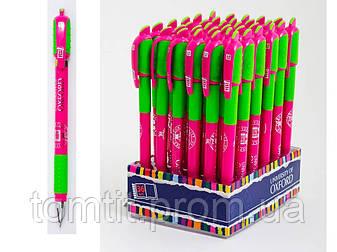 Ручка шариковая автоматическая «Оксфорд» - цвет корпуса малиновый, фото 2