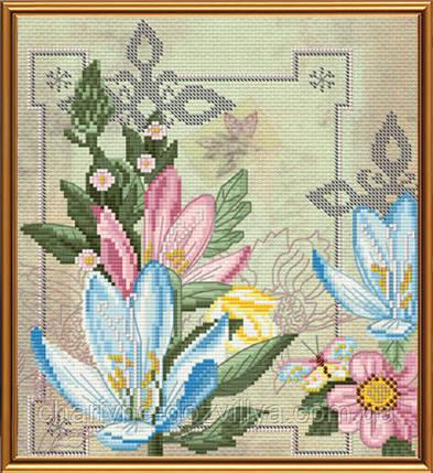 """Набор для вышивания бисером и нитками """"Цветы жизни"""", фото 2"""