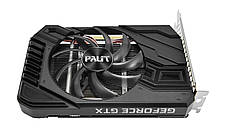 Видеокарта GF GTX 1660 Ti 6GB GDDR6 StormX Palit (NE6166T018J9-161F), фото 2