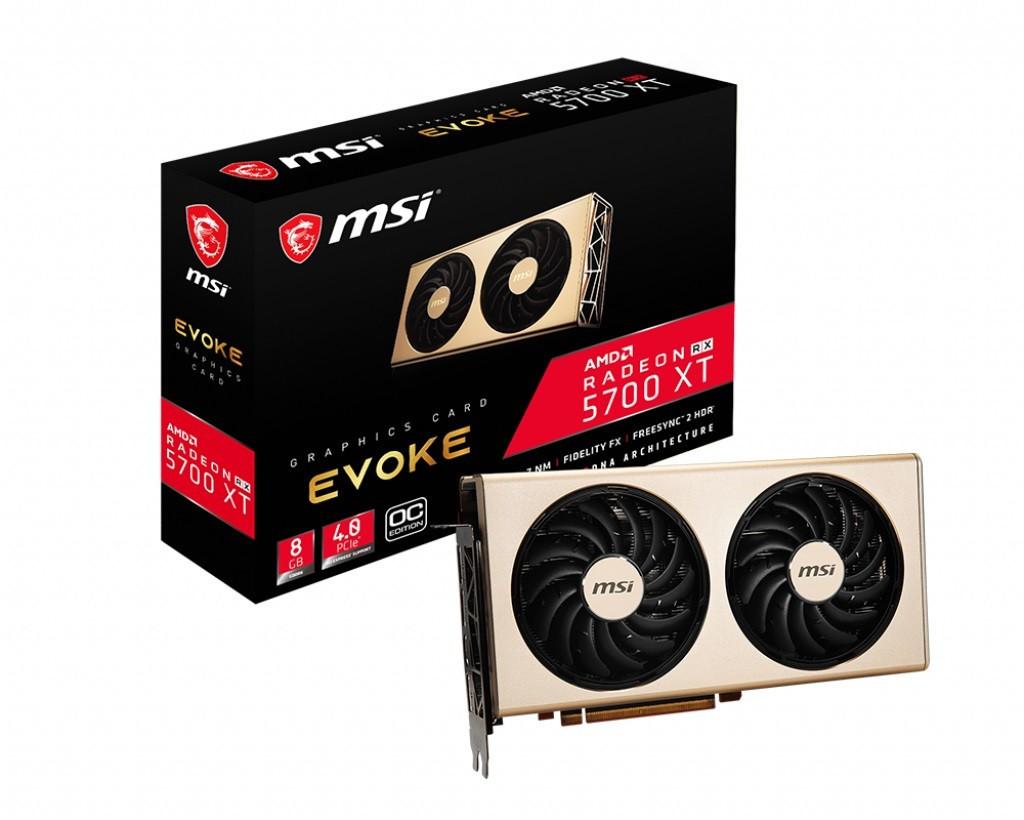 Видеокарта AMD Radeon RX 5700 XT 8GB GDDR6 Evoke OC MSI (Radeon RX 5700 XT EVOKE OC)