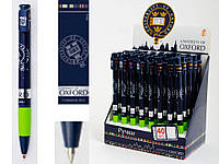 Ручка шариковая автоматическая «Оксфорд» - цвет корпуса синий