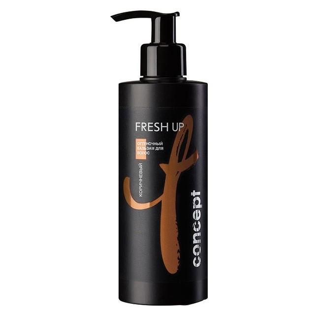 Оттеночный бальзам Concept Fresh Up для коричневых оттенков (250мл.)