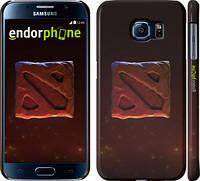 "Чехол на Samsung Galaxy S6 G920 Dota 2. Logo 3 ""982c-80"""